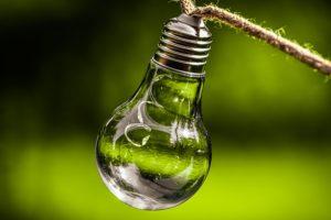 Nachhaltigkeit Lampe