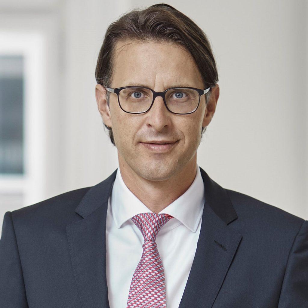 Nils Kottke, Vorstandsmitglied im Bankhaus Spängler