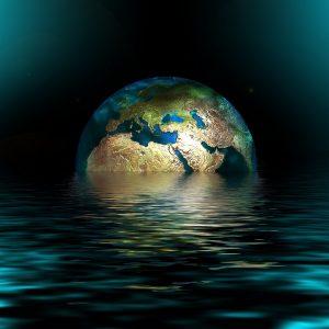 Klimawandel Erde quadrat
