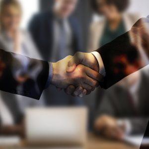 Vereinbarung Händedruck